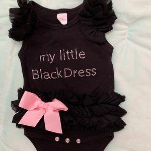Other - My little black dress with rhinestones, tutu